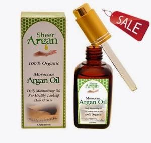 Moroccan argan oil by sheer argan